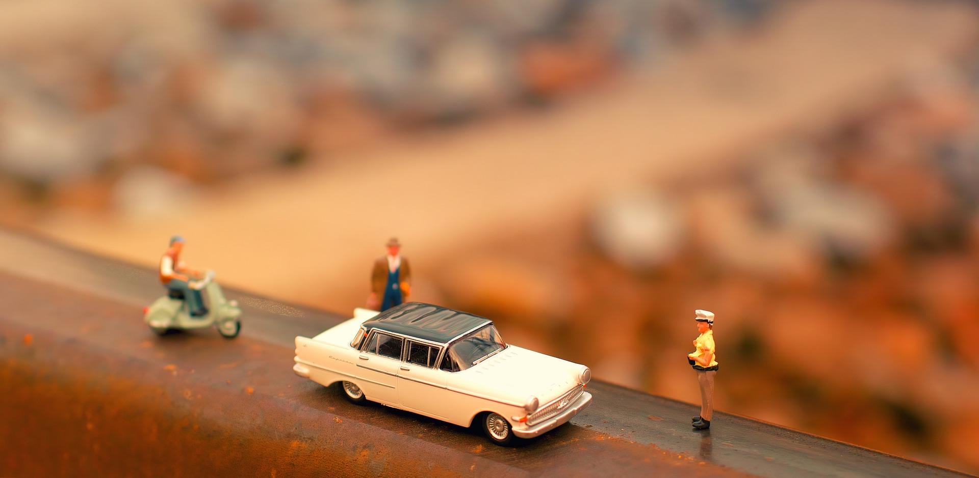 Historien bakom leksaksbilar